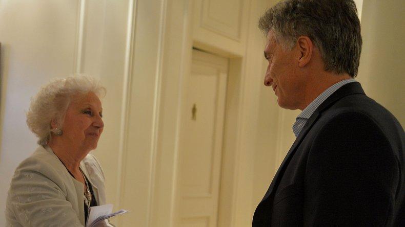 Carlotto salió al cruce de Macri por la dictadura