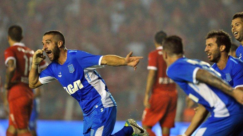 Lisandro López viene de marcarle un golazo a Independiente en el clásico de Avellaneda que terminó 1-1.