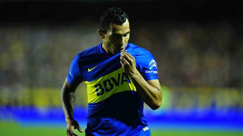 Carlos Tevez se va reencontrando con su nivel.