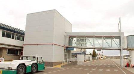 El aeropuerto de Comodoro Rivadavia es uno de los que tiene mayor movimiento en el país