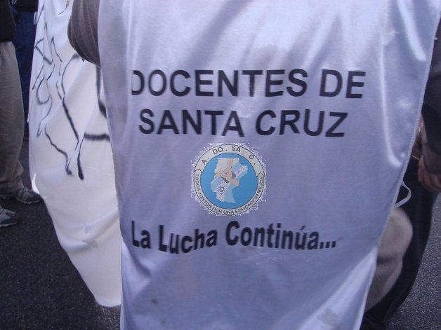 Se suspendió la paritaria docente en Santa Cruz