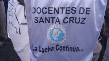 Los docentes de Santa Cruz pararán por 3 días