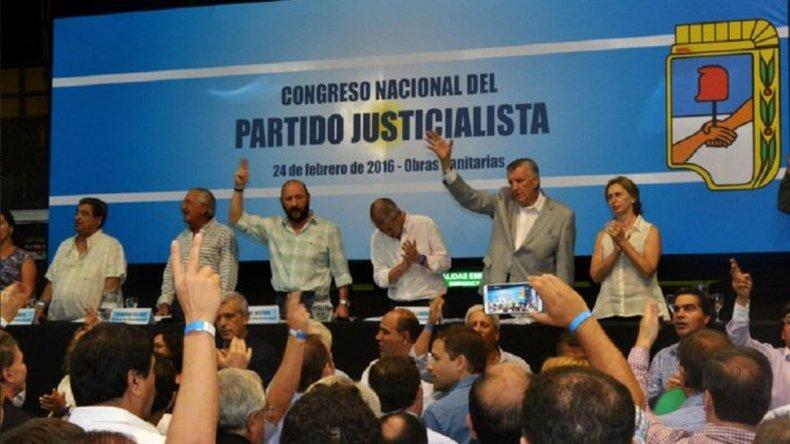 El Congreso del PJ ratificó las internas para el 8 de mayo