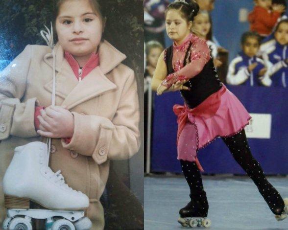 Camila Gallardo es campeona nacional y le robaron sus patines