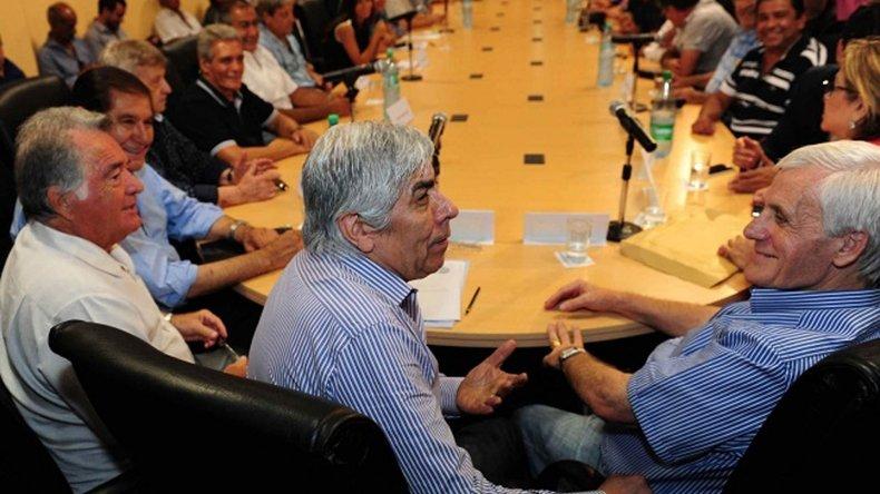 Dirigentes avanzan en la unificación de la CGT.