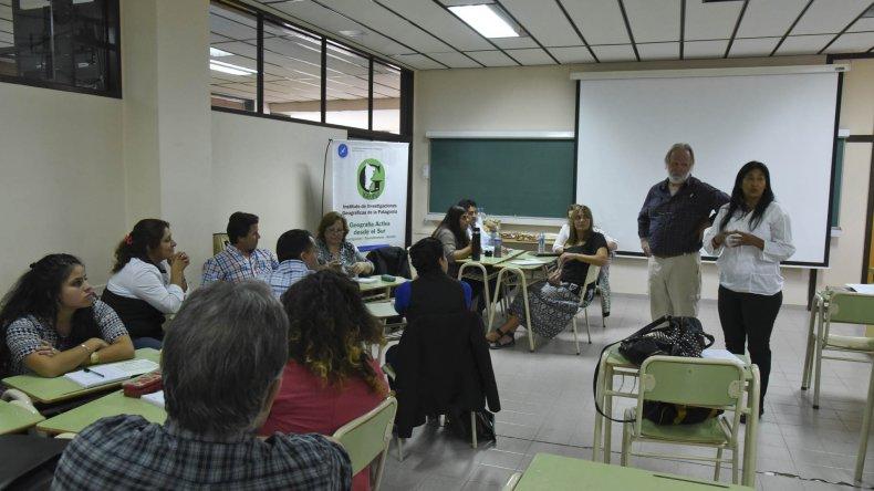 La Maestría en Estudios Socioterritoriales comenzó ayer con el seminario Territorio