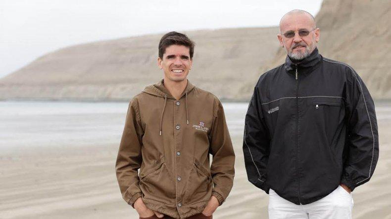 Jorge Mérida le dio la bienvenida a Víctor Peluffo y acompañó el inicio de la clínica en Rada Tilly.