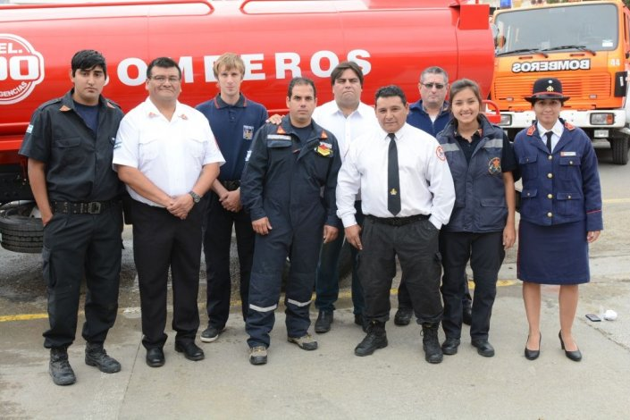 El Destacamento N° 3 de Bomberos Voluntarios cumplió 20 años