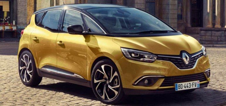 Renault adelantó la nueve Scénic