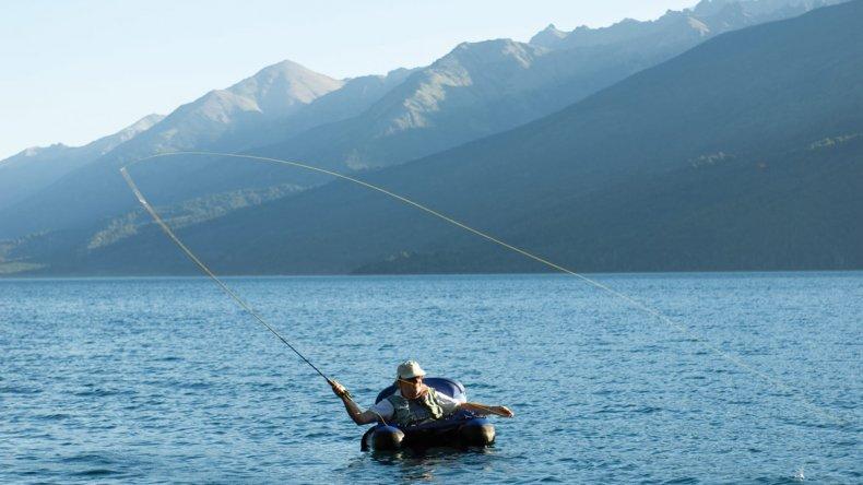 Esquel se encuentra estratégicamente ubicada por lo que en los alrededores hay una gran variedad de sitios de pesca