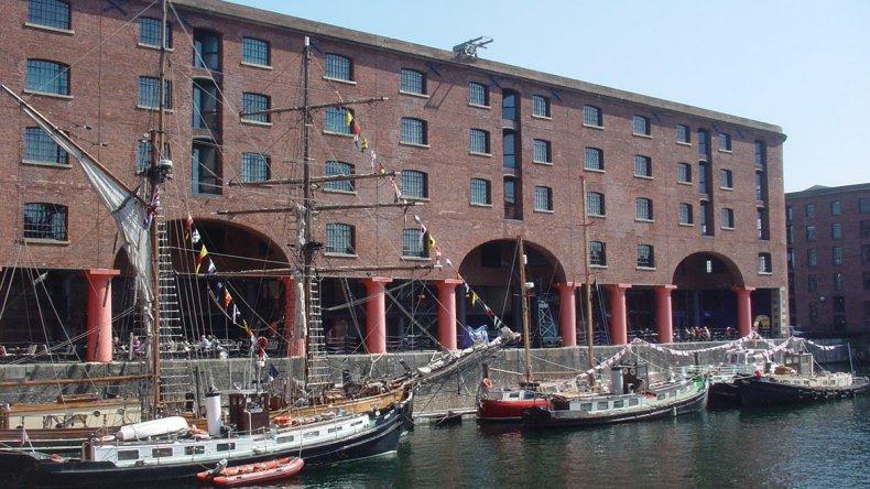 Liverpool fue uno de los centros más importantes del comercio marítimo mundial en los siglos XVIII y XIX.