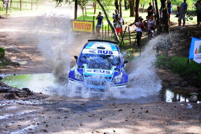 El cordobés Marcos Ligato manda en el Rally de Villa Carlos Paz.