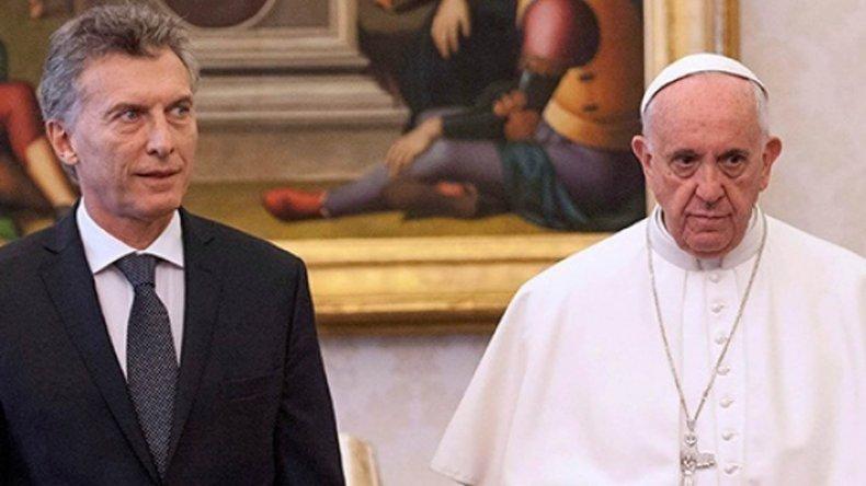 El papa Francisco recibió a Macri en el Vaticano.