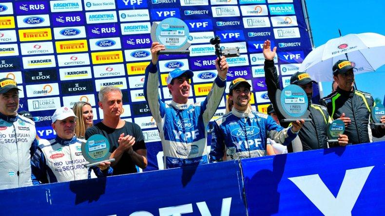 Federico Villagra se quedó con la primera fecha del Campeonato Argentino de Rally que se corrió en Córdoba.