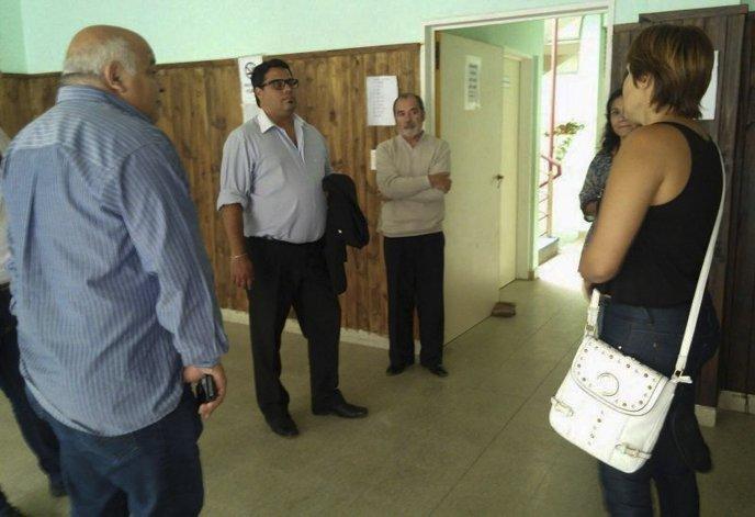 La recorrida de Gonzalo Mondillo por diversas instituciones de bien público de Comodoro Rivadavia.