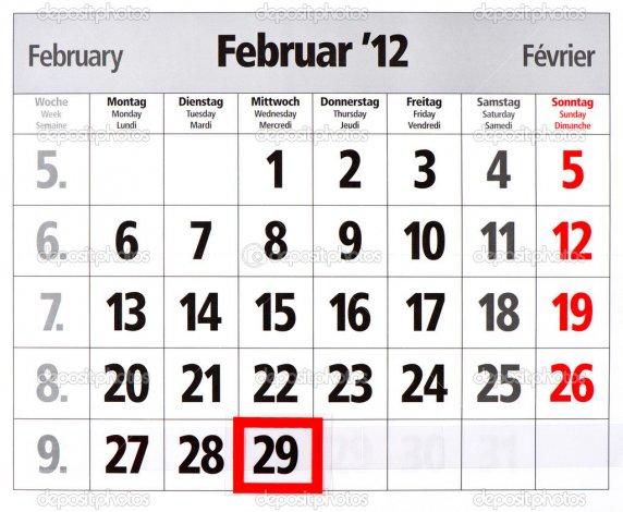 ¿Por qué cada cuatro años febrero tiene un día más?