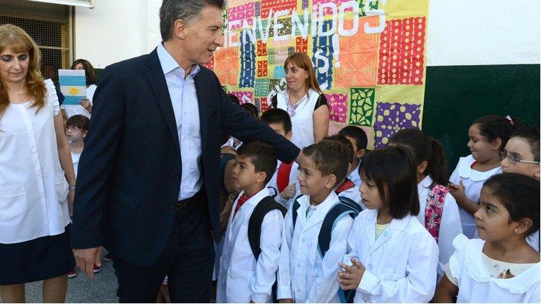 Macri enviará un proyecto al Congreso para que la educación comience a los 3 años