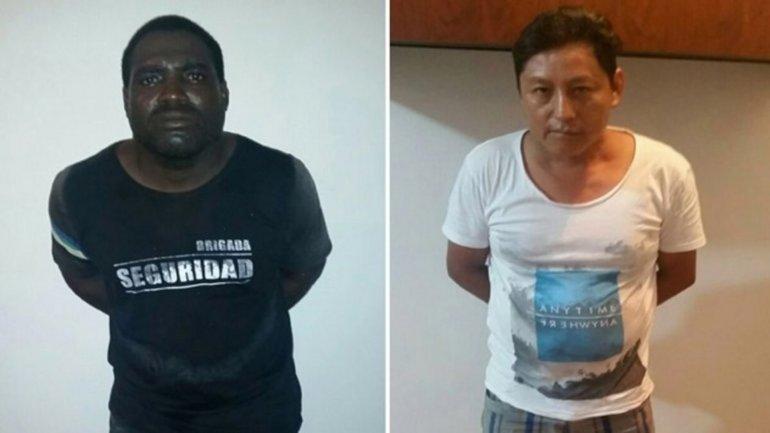 Imágenes de los detenidos por el asesinato de las turistas argentinas.