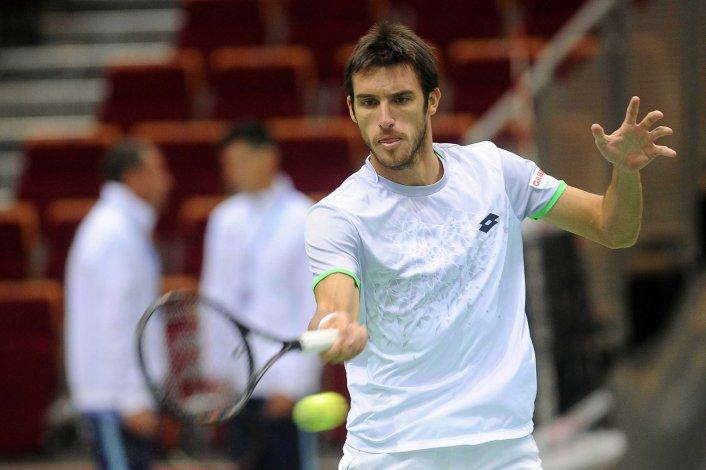 Leonardo Mayer está entusiasmado con representar una vez más a la Argentina en la Copa Davis.