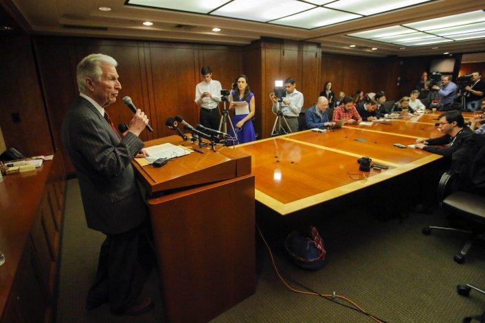 Pollack anunció el fin del litigio entre Argentina y los fondos buitre.