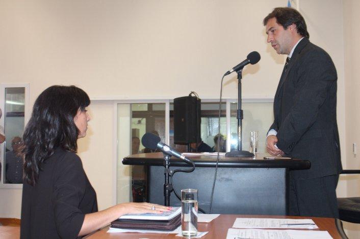 Paula Lorenzo asumió ayer como secretaria legislativa