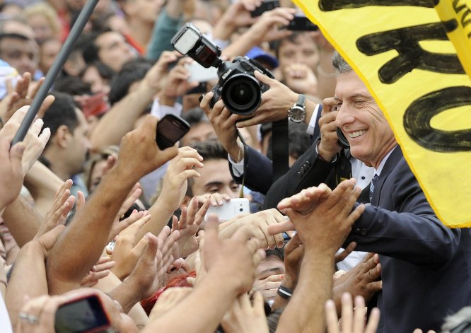 El presidente Mauricio Macri en el Congreso