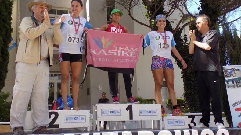 Rosana Calderero se destacó en la distancia de 35K y sumó un podio más a su historial.