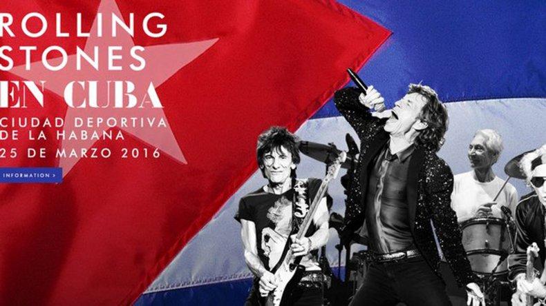 Confirmado el histórico recital de los Stones en Cuba.