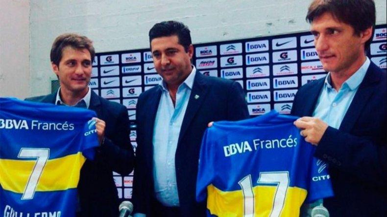 Barros Schelotto: queremos volver a poner a Boca lo más arriba posible