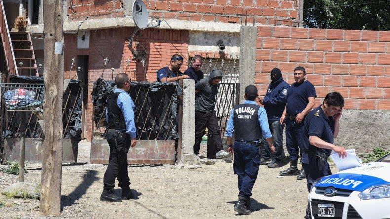 Ricardo Richi Alvarado en el momento de ser detenido el 1 de diciembre del año pasado.