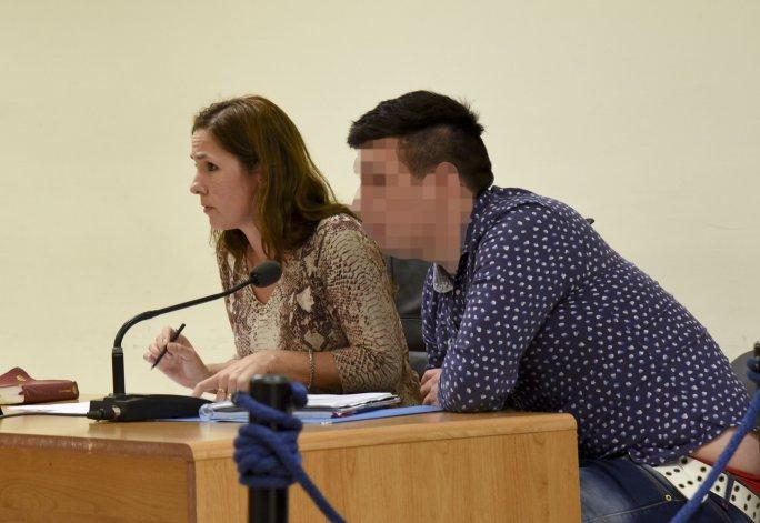 El Patagónico le pixela el rostro a Denis Barrientos ante el pedido de la Fiscalía para que la prueba de reconocimiento en rueda de personas no se invalide.