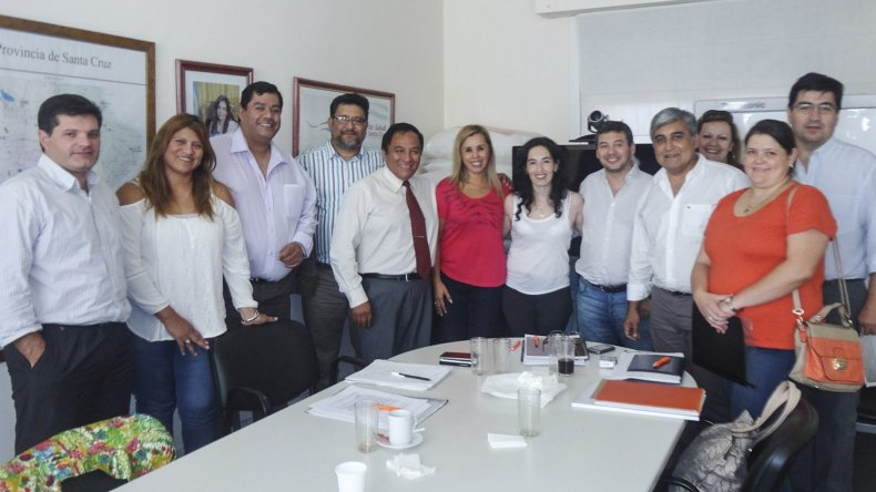 La reunión entre los profesionales de la salud y la ministro de la cartera del área se desarrolló en un marco de cordialidad.