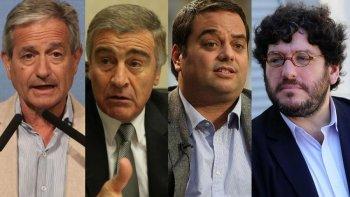 Andrés Ibarra, Oscar Aguad, Jorge Triaca (h) y Pablo Avelluto. El nepotismo caracteriza a Cambiemos.