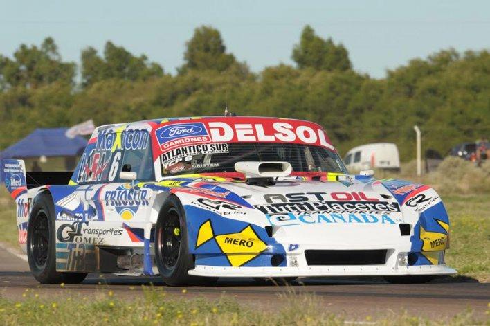 Marcelo Agrelo viene de obtener el segundo lugar en la primera final del TC Pista.