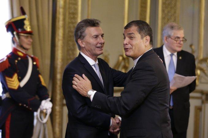 Macri habló por teléfono con Correa por el crimen de las turistas