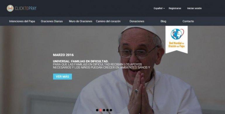 Click to Pray, la app para rezar junto al Papa