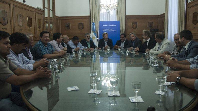 El 1 de febrero se firmó el acuerdo entre Nación