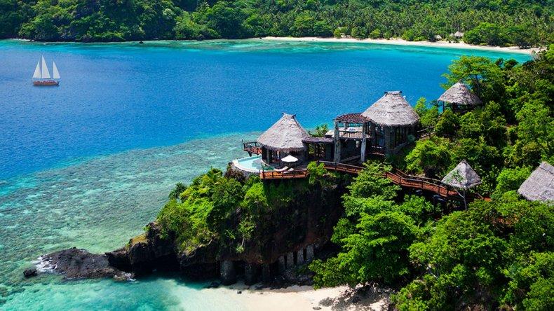 Con maravillosos resorts es quizás un destino poco accesible a todos los bolsillos.