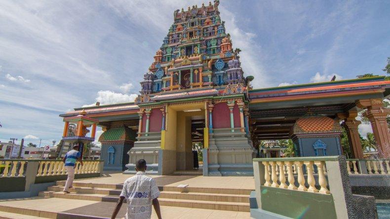 El Sri Siva Subramaniya es un templo hindú en Nadi