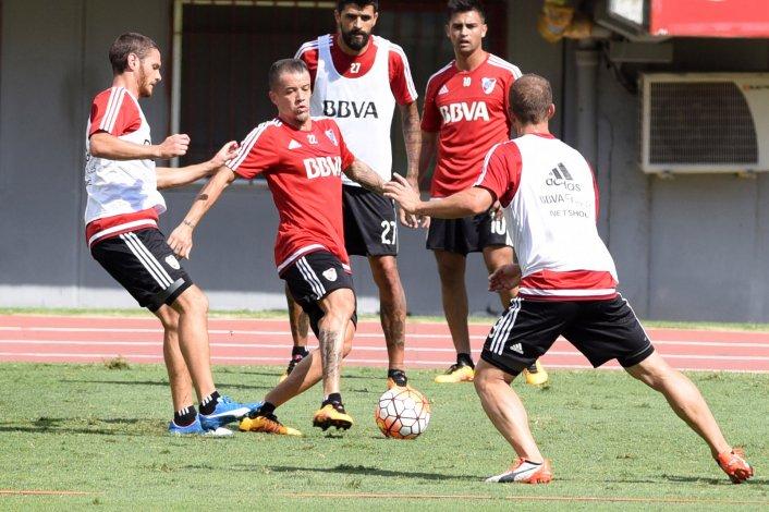 Andrés DAlessandro está listo para reaparecer en River el jueves ante San Pablo por la Copa Libertadores.
