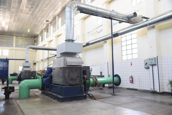 Problemas eléctricos en la planta potabilizadora generaron la salida de sistema.