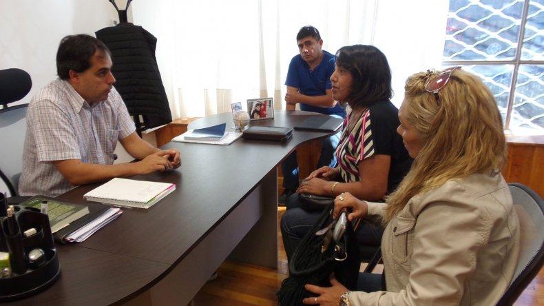 La reunión de Sampaoli con referentes barriales de la Fracción 14.