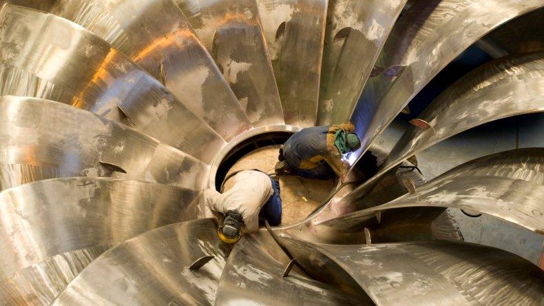 Habrá menos turbinas en el proyecto de las represas