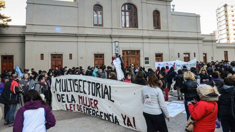 Linares se negó a atender a las mujeres que piden la Ley de Emergencia por violencia de género