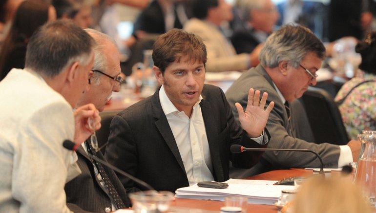 Kicillof cuestionó al Gobierno por estar apurado para cerrar el acuerdo.