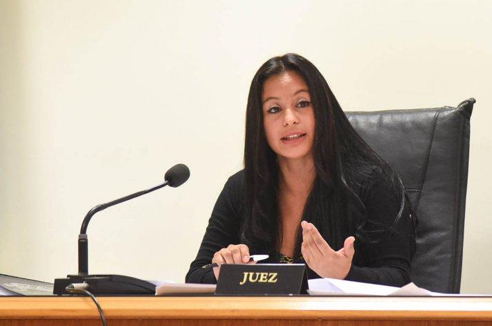 La juez penal Gladys Olavarría le dictó un mes de prisión preventiva a Walter Aybar.