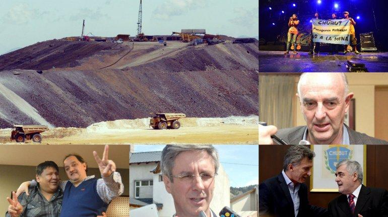 Los sí, los no y las zonas grises del debate minero en Chubut