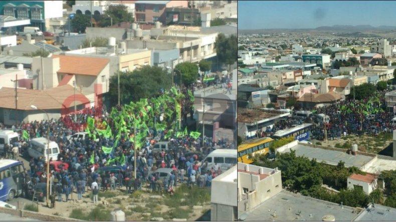 UOCRA se moviliza hoy en reclamo por la activación de obras públicas nacionales