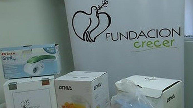 Fundación Crecer realizó el sorteo del bono por el Día de la Mujer