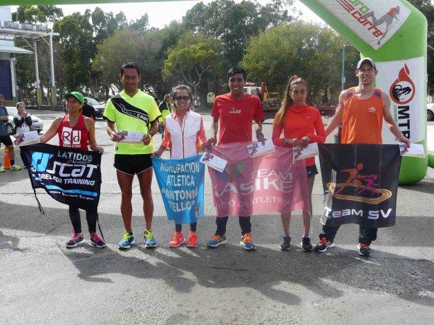 Todos los ganadores de la 6ª edición de la carrera Aniversario Zona Cero.